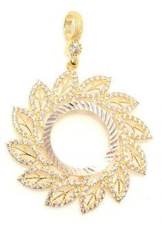 Çerceve kolye #altın #cerceve #gold #pendant
