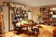 Retail Design | Shop Design | Homeware Store | Anthropologie
