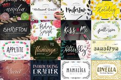 BIG BUNDLE by BlessedPrint - $25 by Blessed Print on @creativemarket