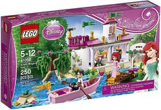 LEGO's Disney Princess Playsets - The little mermaid. I just bought this for Mia for her birthday :)