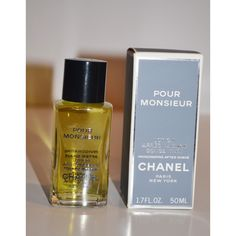 Vintage Pour Monsieur After Shave By Chanel
