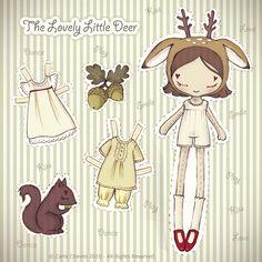 Симпатичные бумажные куколки.. Комментарии : LiveInternet - Российский Сервис Онлайн-Дневников