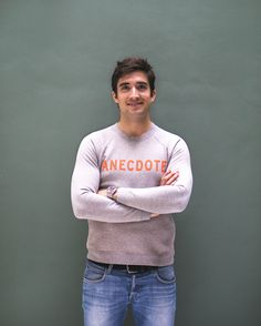 Meet Alexander, Co-owner and Finance Director at Anecdote. Because Yes - our Kingsday sweater is gender neutral.