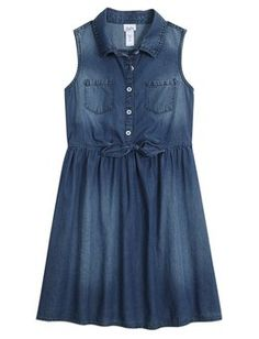 Girls Holiday Denim Dress Looks You'll Love | Shop Justice