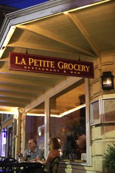 La Petite Grocery Restaurant & Bar on Magazine Street in New Orleans, Louisiana