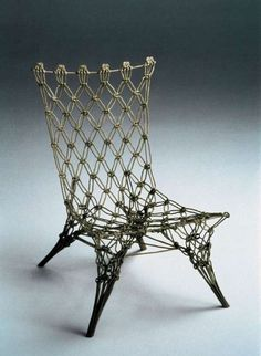 """Knoopstoel"" (Knot Chair) by Marcel Wanders, The Netherlands"