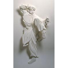 Jackie Chan Drunken Master  paper sculpture