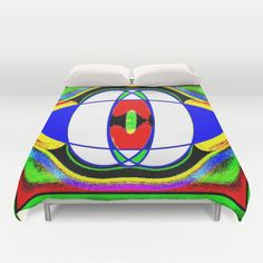 """Me testing pattern71c ....Duvet Cover  / Queen: 88"""" x 88""""    Christa Bethune Smith, Cabsink09 (cabsink09)  Pattern71 by Christa Bethune Smith, Cabsink09   . $99.00"""