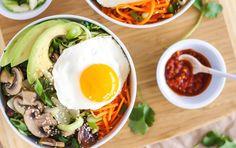 Veggie Korean Bibimbap | Recipe