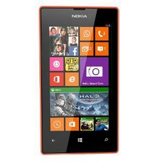 Buy Nokia Lumia 525 Windows Phone8 - Orange. Cost : Rs.8100