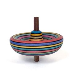 beautiful wooden tops from the wooden wagon