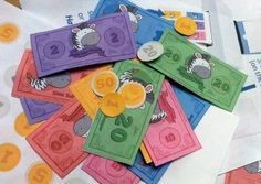 Print Free Money from Little Zebra Shopper. Learning to count money is useful and tested.