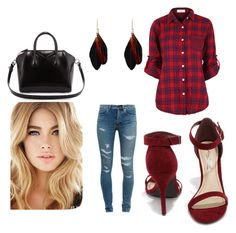 New York street by jay93 on Polyvore featuring moda, Yves Saint Laurent, Anne Michelle and Givenchy