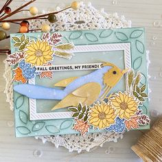 Paper Cards, Paper Gifts, Fall Bouquets, Glitter Cardstock, Bird Cards, Gold Ink, Gift Certificates, Black Glitter, Happy Saturday