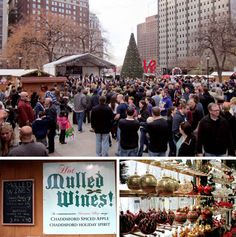 Philadelphia's Christmas Village Opens Thanksgiving Day In Love Park: 60 Vendors, Traditional German Food And Drink, Christmas Tree And More