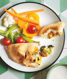Chicken Sausage and Broccoli Pockets recipe