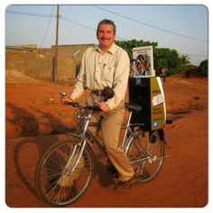 Cart (trolley) witnessing in the Cote d Ivoire