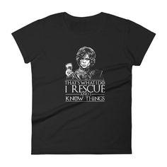 I Rescue Women's short sleeve t-shirt