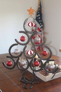 Árbol de Navidad de herradura afortunado