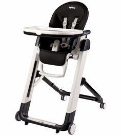 Peg-Perego Siesta High Chair - Licorice Black