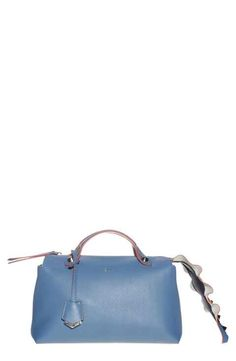 Fendi  Small By the Way - Wave  Studded Tail Leather Crossbody Bag Leather  Crossbody cfdcfb464d4ec