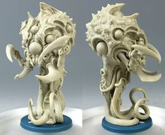 CMON is raising funds for Massive Darkness on Kickstarter! A dungeon crawl board game with no game master. Explore the darkness for loot and experience, facing hordes of awesome miniatures. Joe Madureira, Sculptures, Lion Sculpture, Tyranids, Fantasy Miniatures, Animal Design, Zbrush, Sculpting, Creatures