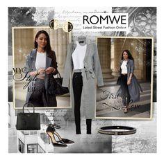 """ROMWE"" by kristina-kazlauskaite ❤ liked on Polyvore featuring Alasdair, MINKPINK, Prada, Yves Saint Laurent and Chanel"