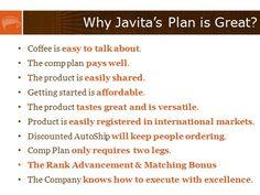 Why Javita works. http://www.myjavita.com/perkupyourlife