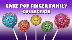 Finger family song 1: Cake Pop Finger Family Collection / Nursery Rhymes...