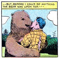 what did you do over the weekend, tom? went camping.. caught some fish... had some beers... got violated by a bear...