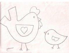 Momma and baby bird