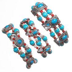 cbd2dac456e Imitation Turquoise Stretch Bracelets