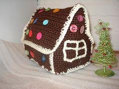"""Gingerbreadhouse from """"Nyt tää neulois tai virkkais"""" blog http://nyttaaneulois.blogspot.com"""