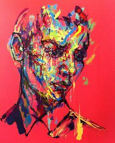 an ordinary person 16, acrylic on canvas, 60.6cm x 53.0cm, 2013