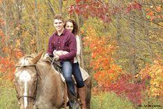 Warm fall day for a horseback ride @ Mt. Nemo Creek