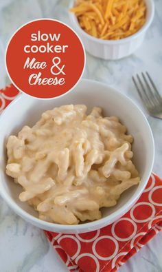 Easy Slow Cooker Mac and Cheese