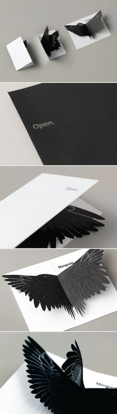 Mangoola Coal Opening invitation | Beautiful design -a