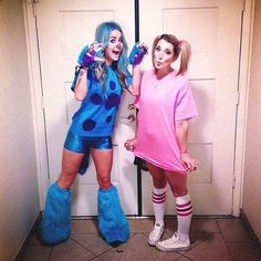 Sulley & Boo (F&F Costume) #MonstersInc