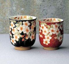 I love Japanese tea cups!