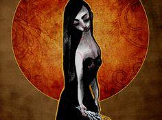 """Meltem Yakın Üldes: """"Acıklı Şeyleri Unut"""" http://kolajart.com/wp/?p=1174 görsel: melankoli by elsa"""