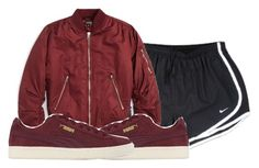 """""""Untitled #613"""" by iamlexus ❤ liked on Polyvore featuring NIKE, Topshop and Puma"""