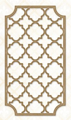 Blue Fern Studios - Chipboard - Quatrefoil Garden Panel,$4.99