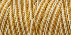Iris Nylon Crochet Thread Browns Print Size 2 300yds