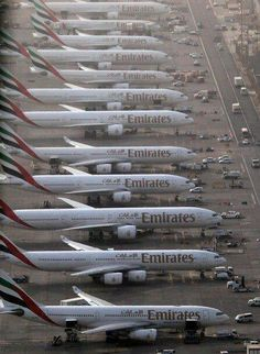 Emirates Airlines Fleet