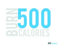 Burn 500 calories in just 30 minutes with the iFit Daily! FREE workouts everyday that are fun to do. I have already dropped 1 pant size in two weeks!