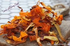 Parsnip & Carrot Chips!