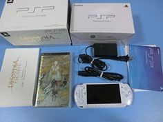 PSP Playstation Portable Dissidia FINAL FANTASY 20th Anniversary limited 1064 #Sony Playstation Portable, Japanese Games, 20th Anniversary, Psp, Final Fantasy, Consoles, Video Game, Sony, 20th Birthday