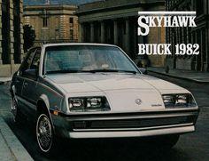 1982 Buick Skyhawk 12-page Original Car Sales Brochure Catalog booklet