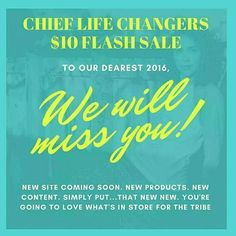 $10 Flash Sale - @chieflifechangers is having a huge sale.  I wanted to share with the tribe.  Everything on sale for $10!! Free beaded bracelet per shipping address while supplies last. #happynewyear