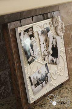 DIY Vintage style Magnetic Memo Board~ easy to make